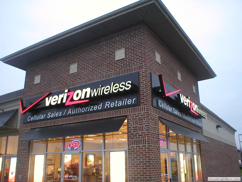 Business Awning for Verizon