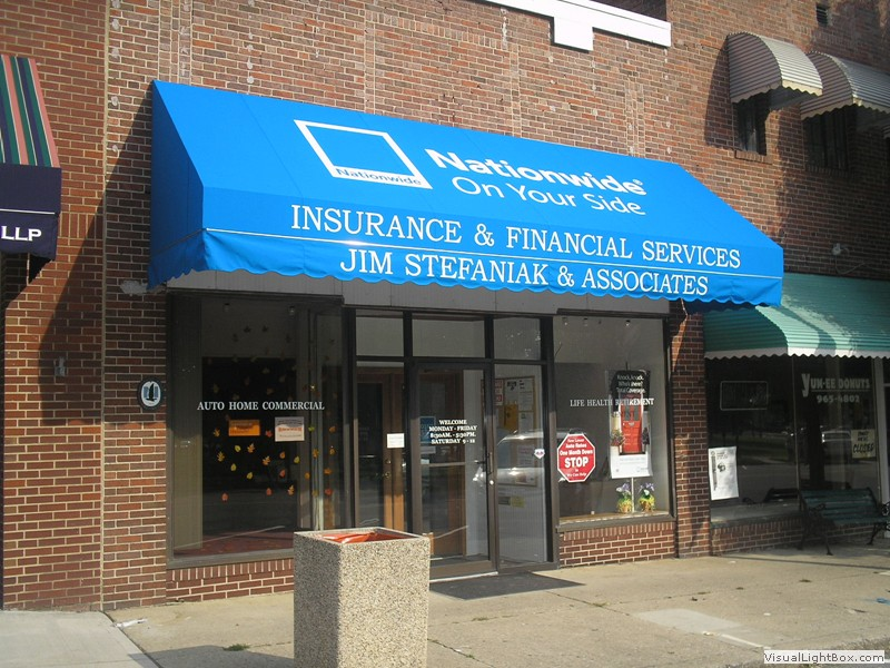 Business Awning for Nationwide Insurance