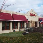 Business Awning for Upper Arlington Ohio Business