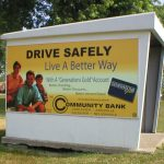 Community bank ad