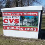 CVS siding gutters windows