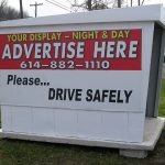 Call us for bus shelter advertising