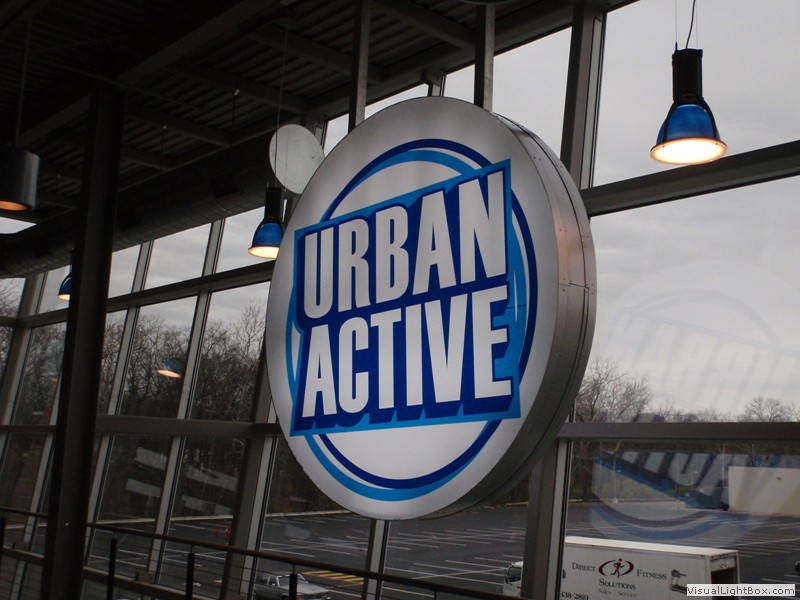 Urban Active indoor sign