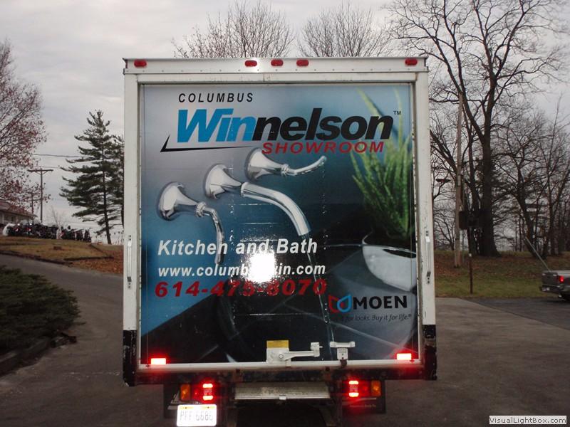 Winnelson Showroom in Columbus, Ohio truck