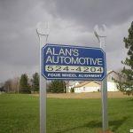 Ground Sign in Sunbury, OH