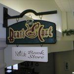 A custom interior sign for a cafe