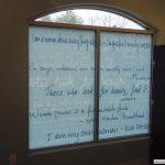 A custom interior sign in Upper Arlington, OH