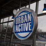 Urban Active indoor sign